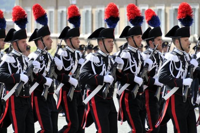 Siracusa, 203° fondazione Arma Carabinieri