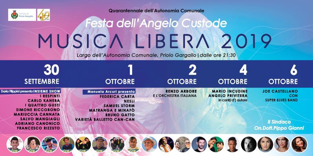 Festa Angelo Custode Priolo 2019