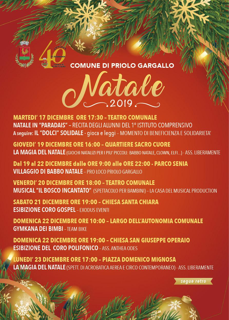 Natale 2019 Priolo Gargallo
